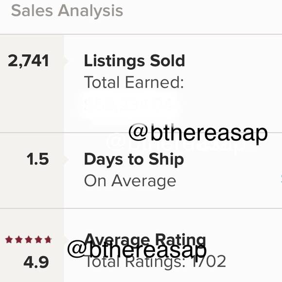 BUY WITH CONFIDENCE- POSHMARK SUGGESTED USER